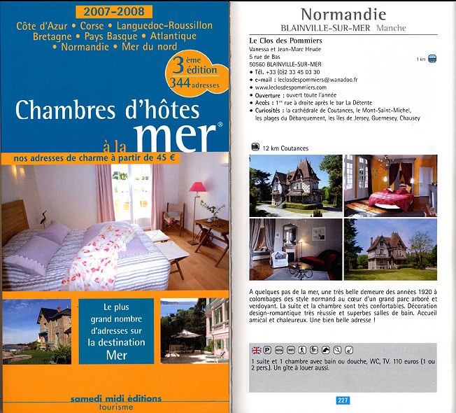 Chambres d 39 h tes secr tes marie dominique perrin l 39 express for Guide chambre hote